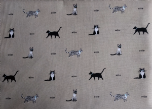 Sophie Allport Purrfect Cats Fabric